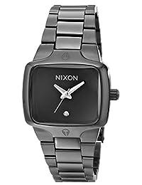 Nixon Women's NXA300001 Stainless Steel Ladies Black Dial Watch