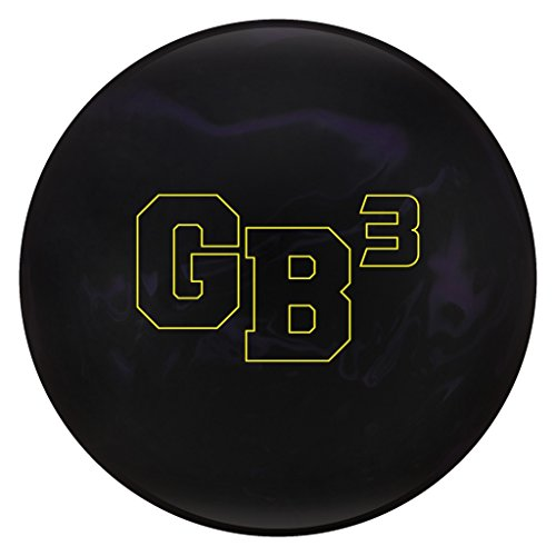 Ebonite Gamebreaker 3 bowling balls, Black/Purple, 15LBS by Ebonite