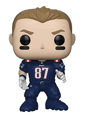 Funko POP! NFL: Patriots - Rob Gronkowski (Color Rush)