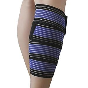 FakeFace Elastic Breathable Compression Hand Ankle Wrist Elbow Support Wrap Bandage Brace Straps 1 Piece
