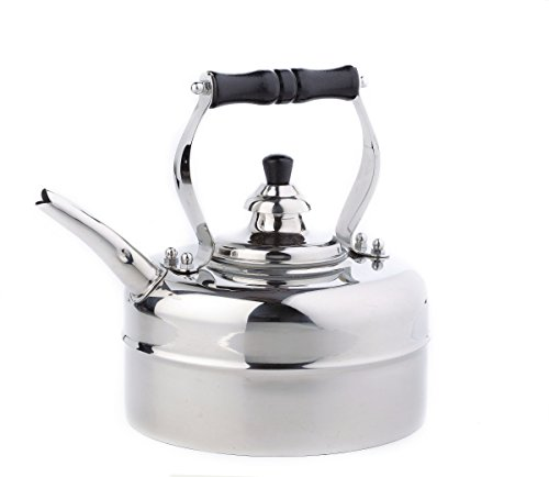 Old Dutch Stainless Steel Windsor Whistling Teakettle - 3 Qt.