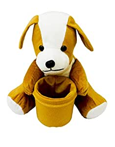 Dog Soft Toys With Pen Stand