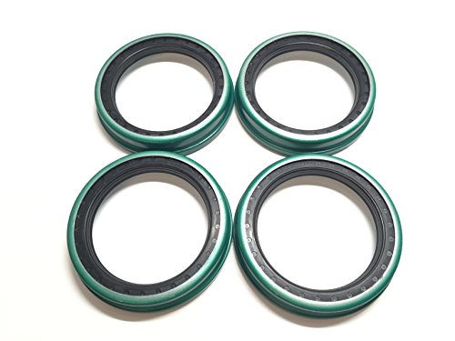 (Pack of 4) Trailer Wheel Unitized Oil Seals WPS (TM) CR27438 91030 Hayes #99 Spindle I.D. 2.750'' for 9K-10K lb. Axles