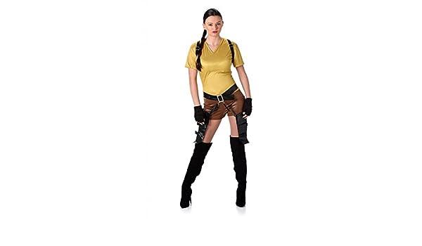 Karnival Costumes – Lara Croft Tomb Raider Disfraz para Mujer ...