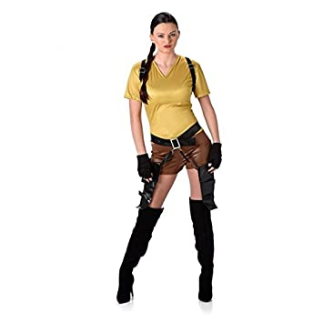disfraz mujer lara croft
