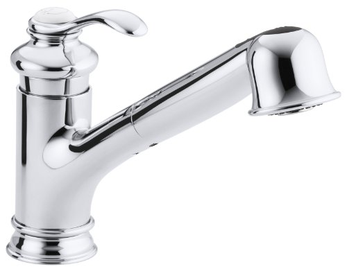 KOHLER K-12177-CP Fairfax Single Control Kitchen Sink Faucet, Polished Chrome (Fairfax Faucet compare prices)