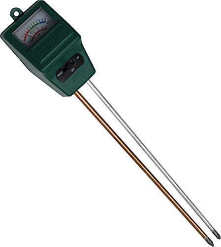 Worm Farming pH + Moisture Meter for Red Wiggler Composting Bins ()