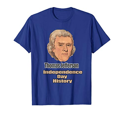 T-Shirt Independence Day History Thomas Jefferson (Thomas Jefferson Separation Of Church And State Quote)