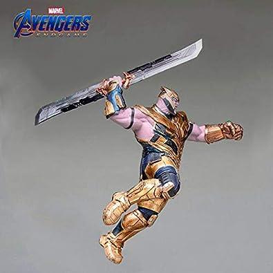 Amazon.com: Marvel Avengers 4 Endgame Thanos Sword Keychains ...