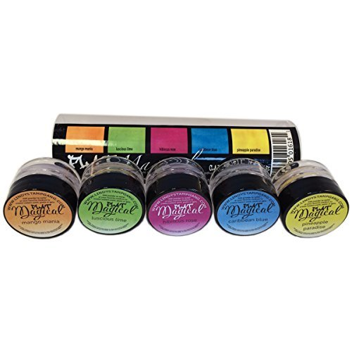 Lindy's Stamp Gang Magical Flat Set, 0.25-Ounce, Caribbean Cruise, 5-Pack Lindy's Stamp Gang MAG-FLAT-1
