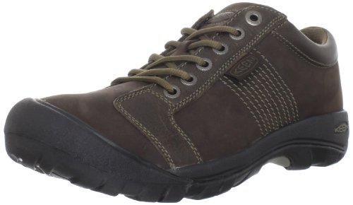 - KEEN Mens Austin Chocolate Brown Walking Shoe - 9