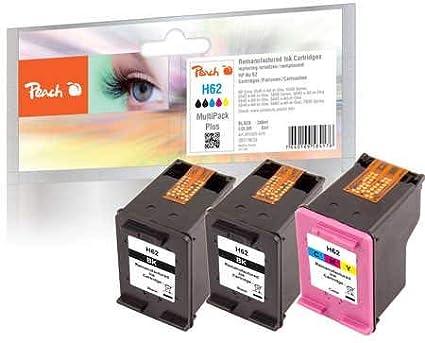 Peach Pack de ahorro Plus cabezales de impresión compatible con HP ...