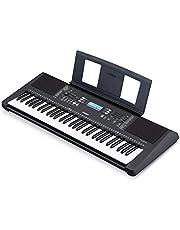 Yamaha PSRE373 61-Key Touch Sensitive Portable Keyboard (Power Adapter Sold Separately) photo