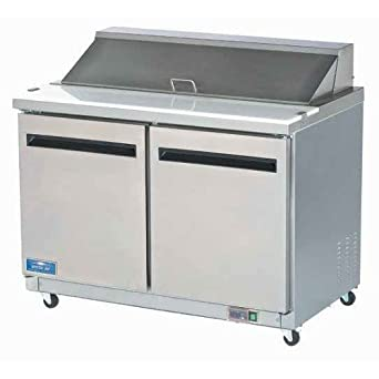 Superb Arctic Air AST48R Two Door Sandwich Prep Table