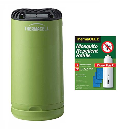 Thermacell MR-PSG Patio Shield Mosquito Repeller  and 48-Hou