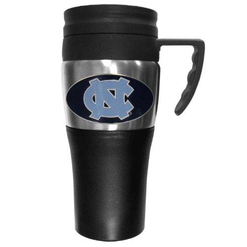 NCAA North Carolina Tar Heels 2 Toned Travel Mug