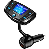 VicTsing (Upgraded Version) Bluetooth FM Transmitter