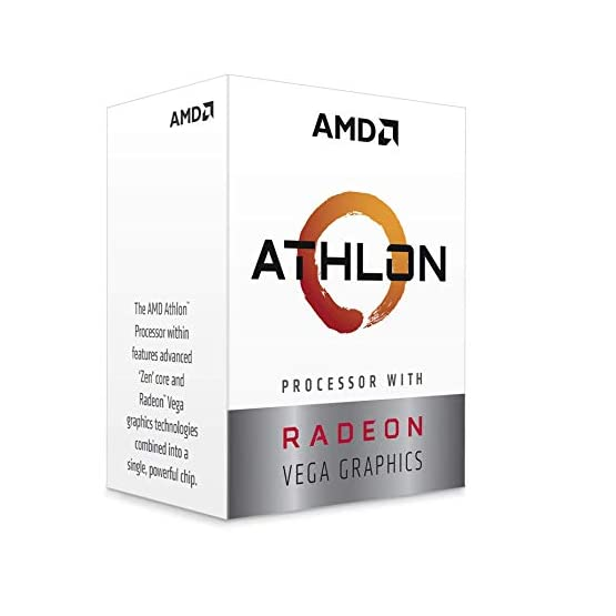 AMD Athlon 3000G 2-Core, 4-Thread Unlocked Desktop Processor with Radeon Graphics 41vPadAJMCL. SS555