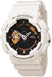 Casio G-Shock Black Dial Resin Quartz Men's Watch GMAS110CW-7A2
