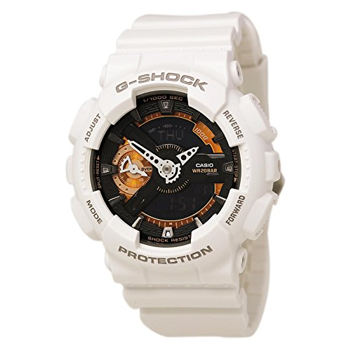 Casio G Shock Black Quartz GMAS110CW 7A2