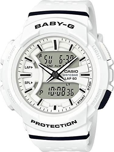 Casio Baby-G BGA-240 Two-Tone Series White Watch BGA240-7A