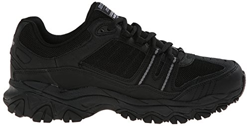 Skechers Men's After Burn Memory Fit - Strike Off Lace-Up Sneaker