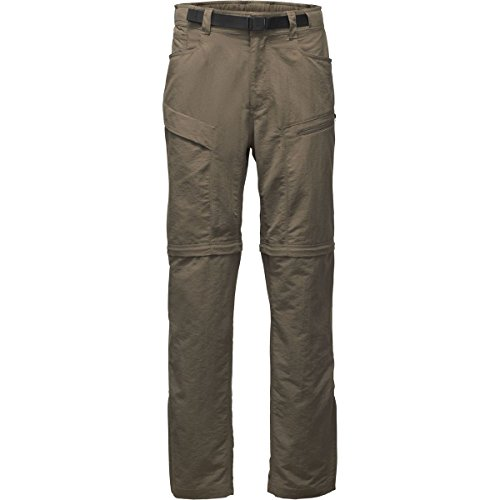The North Face Men's Paramount Trail Convertible Pants - Weimaraner Brown - L - Short Mens Convertible Pants