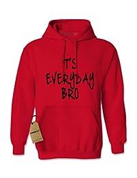 Expression Tees It's Everyday Bro (Black Print) Unisex Adult Hoodie