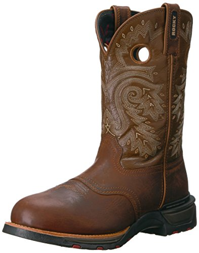 Western Brown Brown RKW0208 Men's Tobacco Boot and Rocky qwgTzBE7xw