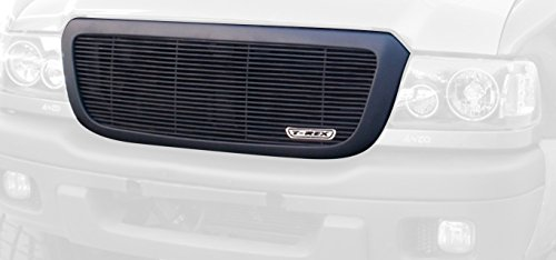 Horizontal Aluminum Black Finish Billet Grille Insert for Ford Ranger (Horizontal Billet Grille)