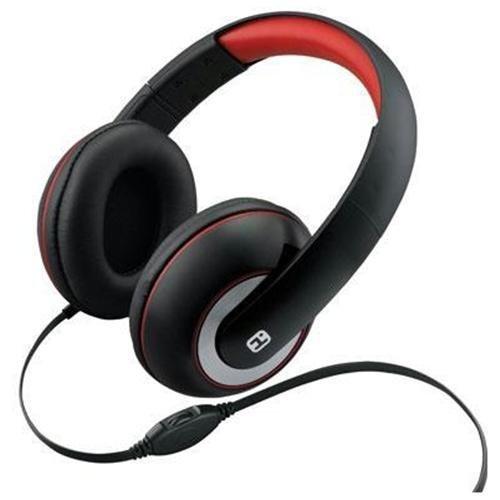 iHome iB40B Over Headphones Control