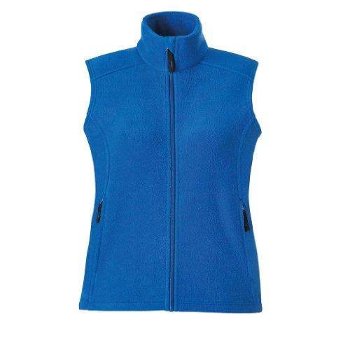 - Ash City Ladies Journey Core 365 Fleece Vest (Small, True Royal)