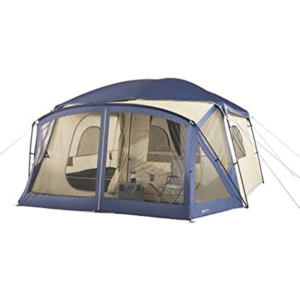 Amazoncom Ozark Trail 12 Person Cabin Tent With Screen Porch