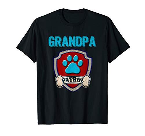 Funny Grandpa Patrol T-Shirt - Dog Mom T-Shirt ()