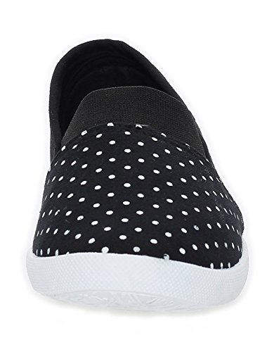 Cleostyle - Mocasines Mujer negro