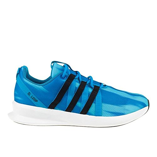 Adidas - ZX Flux SL Loop Racer J - C77232 - Color: Azul - Size: 40.0