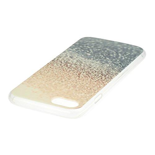 Voguecase Für Apple iPhone 7 4.7 hülle, Schutzhülle / Case / Cover / Hülle / TPU Gel Skin (Gelb Sands) + Gratis Universal Eingabestift