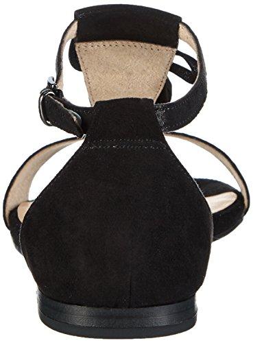 Caprice 28104 - Sandalias Mujer Negro - Schwarz (BLACK SUEDE 4)