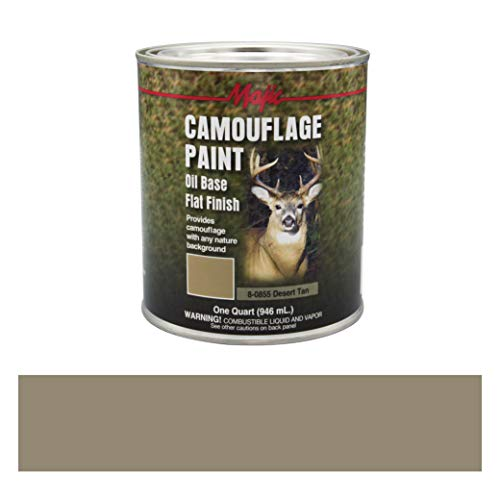 (Majic Paints 8-0855-2 Camouflage Paint, 1-Quart, Desert Tan)
