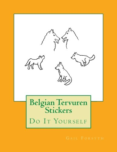Belgian Tervuren Stickers: Do It Yourself