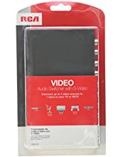 RCA VH911R System Selector for TV, DVD Gaming VCR, DVR, Camcorder and CD Player/Recorder