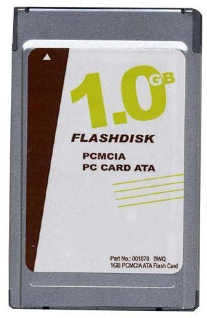 - 1GB PCMCIA ATA Flash Card p/n ATA-1GB-MT