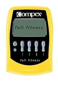 Compex Full Fitness - Electroestimulador muscular, color amarillo