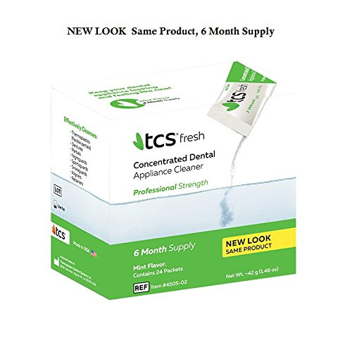 TCS Dental Appliance Cleaner (6-Month Supply) by TCS