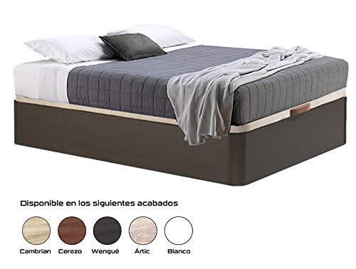 HIPERSTOCKS CANAPE ABATIBLE WENGUE Canto Redondo (135 X 190): Amazon.es: Hogar