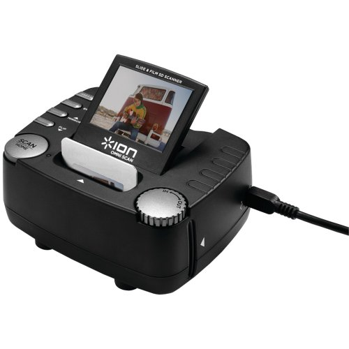 ION OMNI SCAN Stand-Alone Image and Slide Scanner