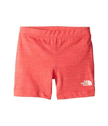 (The North Face Kids Unisex Tri-Blend Shorts (Toddler) Atomic Pink Heather 2T Toddler)