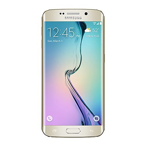 Samsung Galaxy S6 Edge Verizon Gold 32 GB (Refurbished) [並行輸入品] B07FGWQ6VC