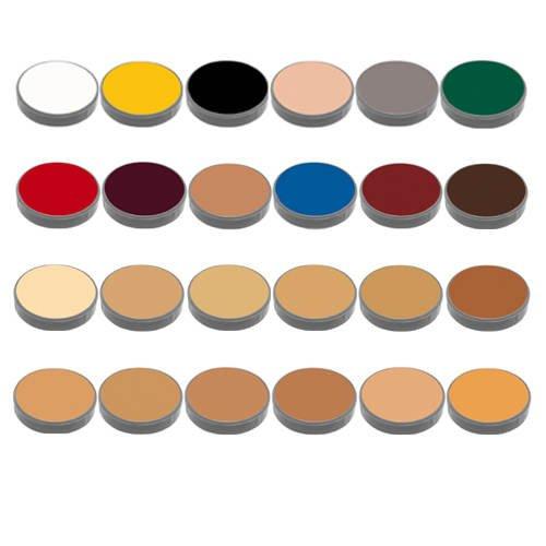 Crème Make-up, 24-Farben-Palette, Farbe K, von Grimas [Spielzeug]