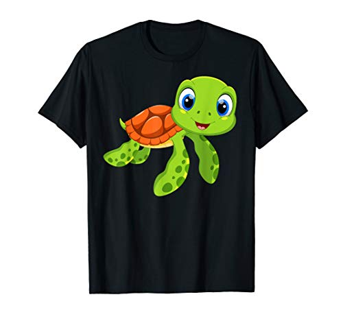Woman Ninja Turtle Costume Ideas (Cute sea baby turtle tee shirt)